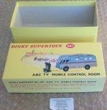 Dinky #987 ABC TV Mobile Control Room - Reproduction Box